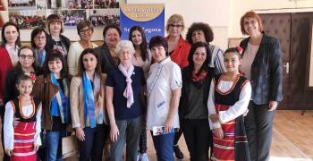 Дамите от Инър Уийл клуб Стара Загора посрещнаха президента на Интернешънъл Инър Уийл Филис Чартър