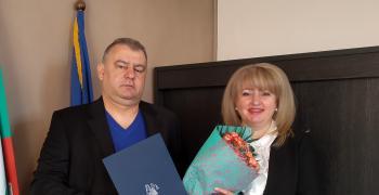 Съдия Милена Колева встъпи официално в длъжност