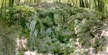 Медни рудници до село Хрищени