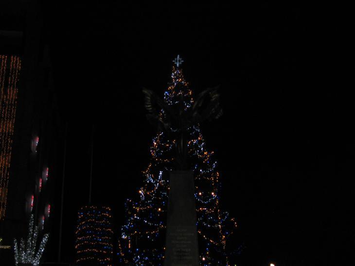 Коледна украса в Стара Загора 2015