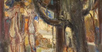 """Изложба представя богатството на ямболската Художествена галерия """"Жорж Папазов"""" в Стара Загора"""