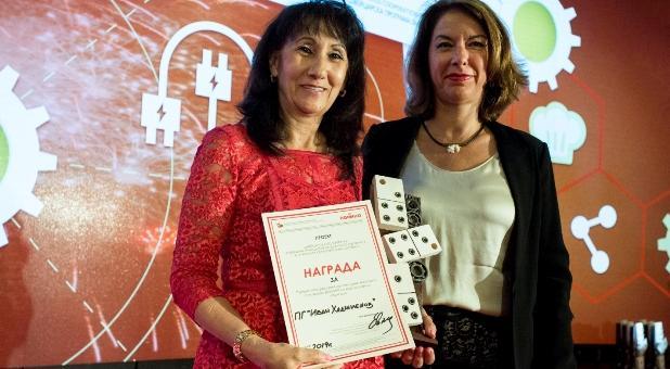 Дуалното образование донесе три награди за Старозагорско