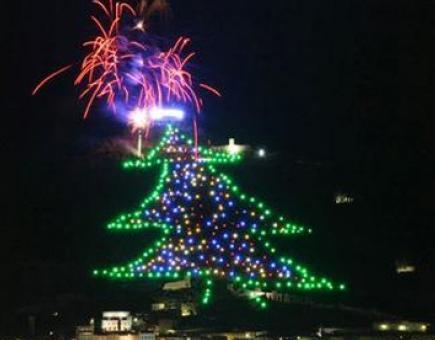 Празничен ГИНЕС: най-голямата елха