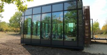 Вече и у нас: сграда с течни прозорци