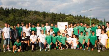 """Отборът на момичетата спечели детския любителски турнир """"Мост-Между-Културите"""""""