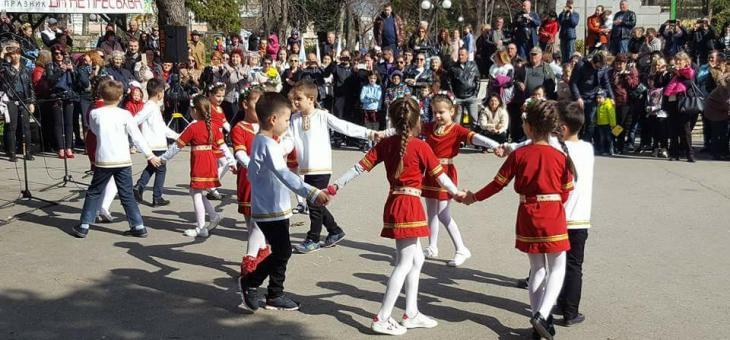 Детски фолклорен празник на Цветница в Стара Загора