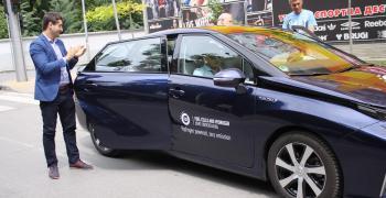 Представиха автомобил работещ с водородно гориво