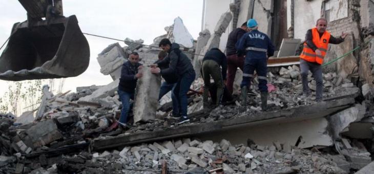 В Албания: 1300 земетресения за пет дни