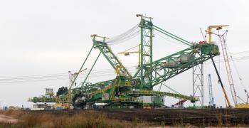 """""""Мини Марица-изток"""" въвеждат в експлоатация два нови роторни багера"""