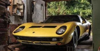 Продадоха Lamborghini Miura за 1,6 милиона долара