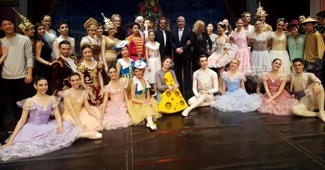 Руският посланик гостува на балетна премиера в Стара Загора