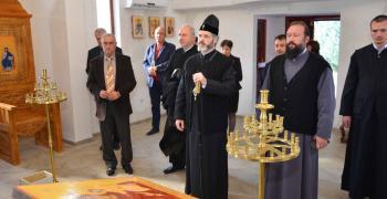 8 години по-късно: Освещават храма в Тракийския университет
