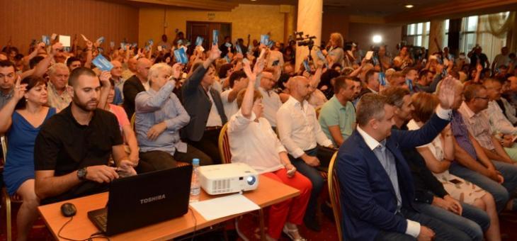 Kандидатурите на 66 души за общински съветници издигна ГЕРБ Стара Загора