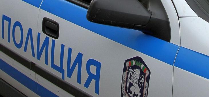 Иззеха боеприпаси в Плодовитово, маскиран с пистолет обра магазин