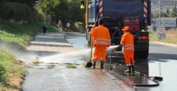 Предварителен график за миене на улиците