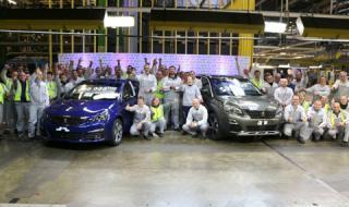 PEUGEOT произведе 500-хилядния SUV PEUGEOT 3008 И 1-милионния PEUGEOT 308 в завода в Сошо