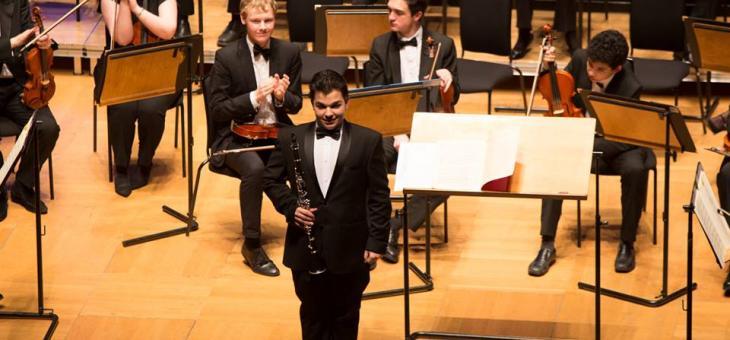 Възпитаник на Музикалното училище с концерт в операта