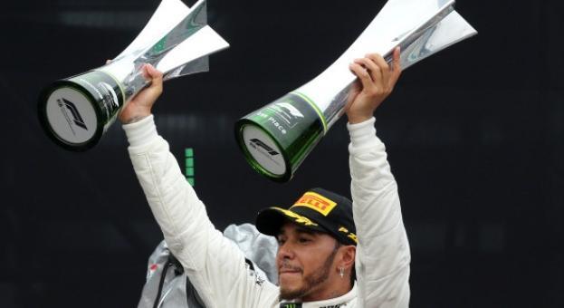 Шампионът Хамилтън покори и пистата в Бразилия
