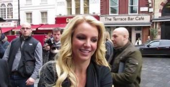 Бритни Спиърс на туристическа обиколка в Лондон