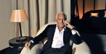 Джорджо Армани затвори дефилето си заради коронавируса