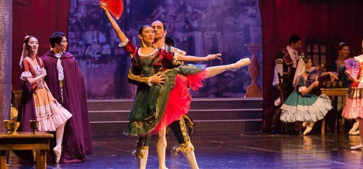 """Дебют на Харука Суга в балета """"Дон Кихот"""""""
