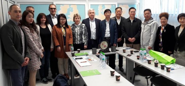 Китайска бизнес делегация посети Стара Загора