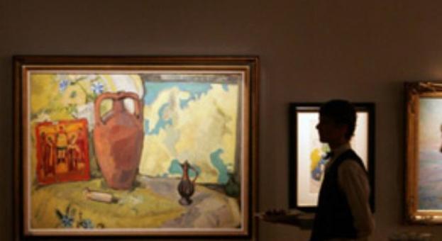 Продадоха картина на руския художник Михаил Ларионов за 2,8 милиона долара