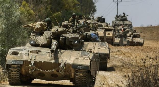 Израел с танкове и артилерия по сирийската граница