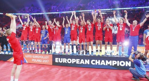 Русия триумфира с европейската титла по волейбол