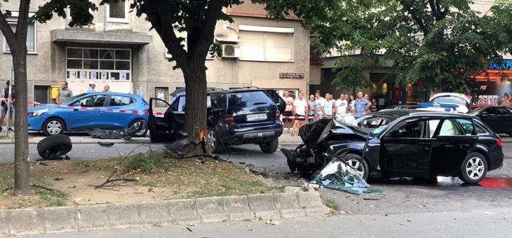 Две катастрофи в Стара Загора, за щастие без тежко пострадали