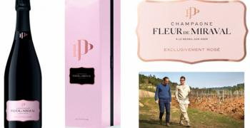 Брад Пит пуска на пазара розово шампанско