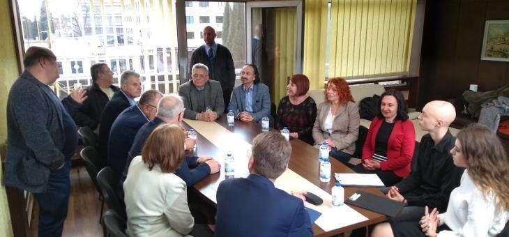 Общинският омбудсман Надежда Чакърова посрещна колегите си от страната