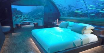 Адреналин: Може да спите с акули в подводна вила за $50 000 на вечер (снимки)