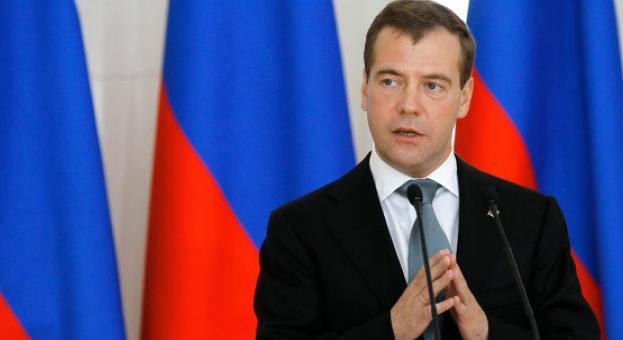 Премиерът на Русия Дмитрий Медведев пристига на официално посещение у нас