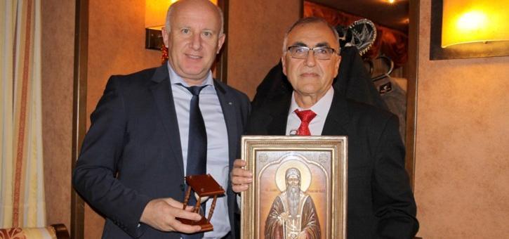 Павел Карачолов с приза минен инженер на годината