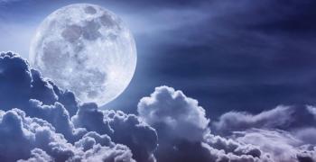 Лед на луната