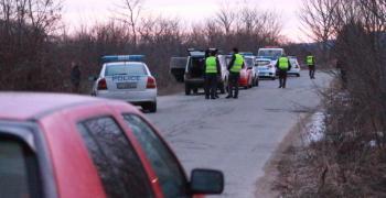 Среднощна полицейска гонка в Старозагорско