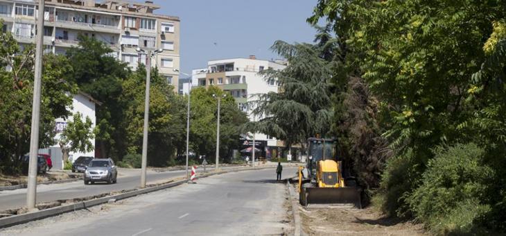 """Затварят част от бул. """"Крайречен"""" в Стара Загора"""