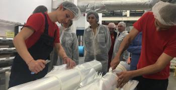 Швейцарският посланик посети фирма, участваща в проекта ДОМИНО