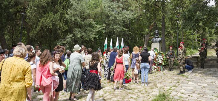 Старозагорци се поклониха пред подвига на Ботев и загиналите за свободата