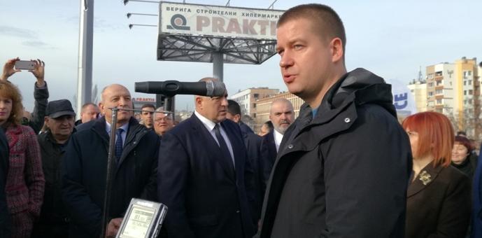 """Мостът към кв.""""Кольо Ганчев"""" е отворен за движение"""