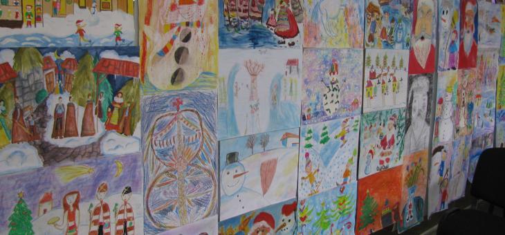 """Конкурс """"Сурва, Весела година"""" за ученици от 1 до 7 клас"""