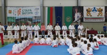 Над 100 деца участваха в киокушин карате турнир за Купа Стара Загора