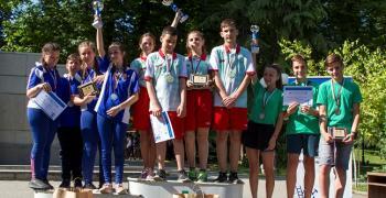 Ученици мериха сили в състезание за бедствия и аварии
