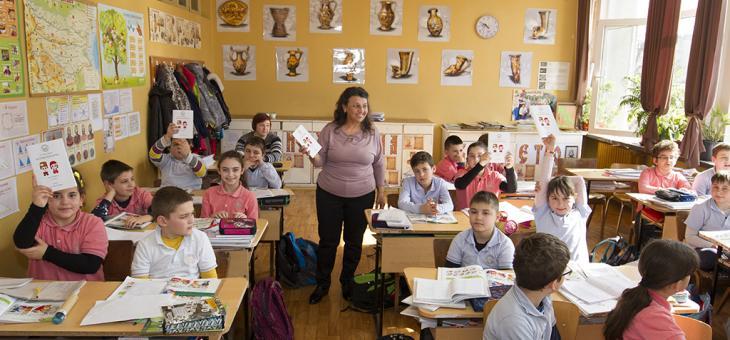 """Третокласници издадоха поетична книга """"Аз съм българче"""""""