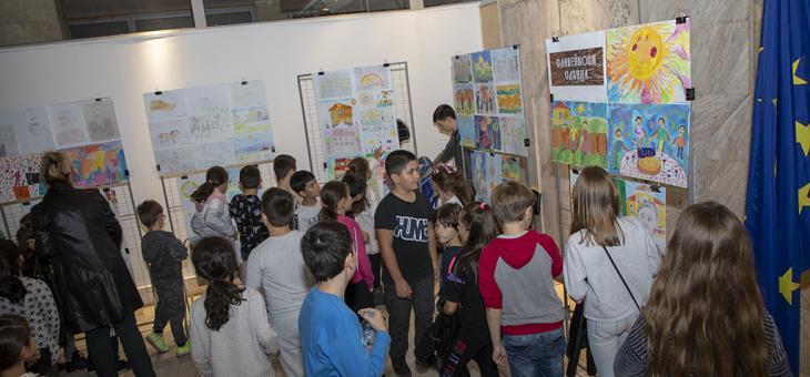 Старозагорски деца рисуваха любимото училище