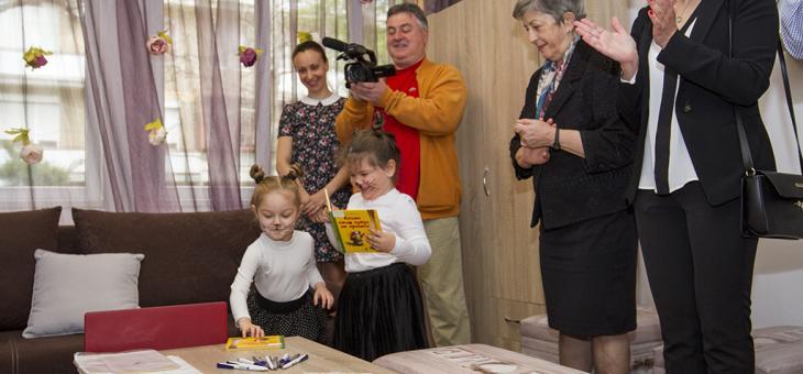 В Стара Загора откриха първата библиотека в детска градина