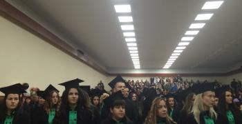 Медицинският факултет в Стара Загора изпрати 116 здравни специалисти