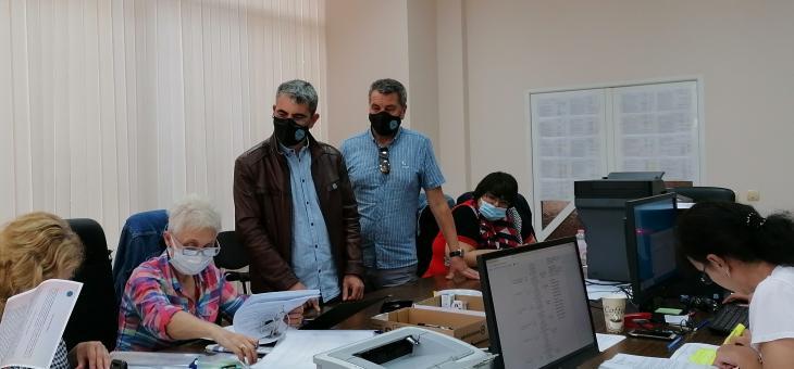 """ПП """"Има такъв народ"""" регистрира листата си в РИК - Стара Загора"""