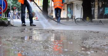 Днес отново ще мият улиците в Стара Загора